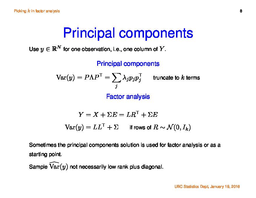 Factor Analysis Pdf
